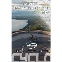 Savoie, 31 parcours vélo de route - Vtopo