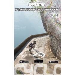 Drôme, 37 parcours vélo de route - Vtopo
