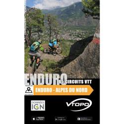 Enduro, Alpes du Nord 65 circuits VTT - Vtopo