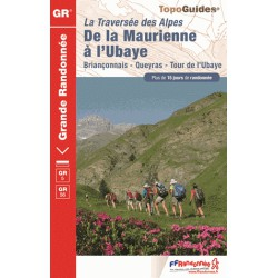 Achat Topo guide randonnées - La traversée des Alpes  - FFRP 531
