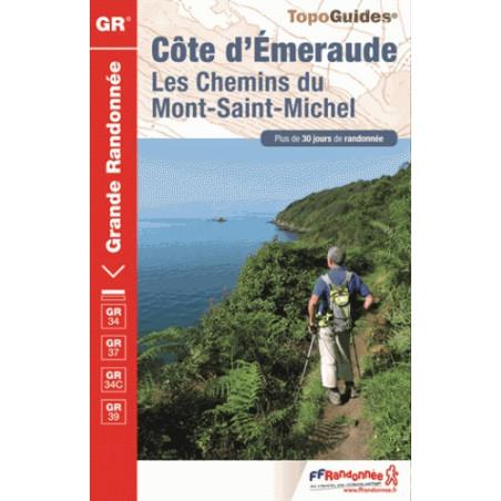 Achat Topo- Côte d'Emeraude : Les Chemins du Mont-Saint-Michel - FFRP