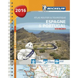 achat atlas routier et touristique 2016 espagne portugal michelin. Black Bedroom Furniture Sets. Home Design Ideas