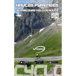 Hautes-Pyrénées, 36 parcours vélo de route - Vtopo