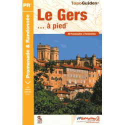 Achat Topo guide randonnées - Le Gers... à pied® - FFRP D032