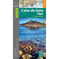 Achat Cartes randonnées Cabo de Gata - Alpina