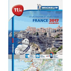 Atlas routier Michelin France 2017 broché