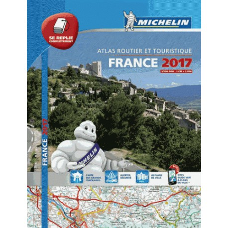 achat atlas routier michelin multiflex france 2017