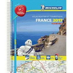 Atlas Routier Michelin France plastifié 2017