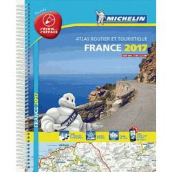 Atlas Routier Michelin France plastifié 2017