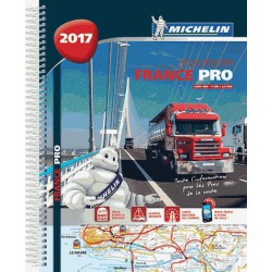 Atlas routier Michelin France professionnel 2017