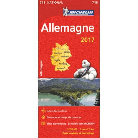 Allemagne 2017 - Michelin 718