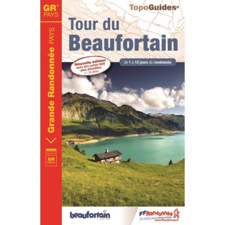 Achat Topo guide randonnées - Tour du Beaufortain - FFRP 731