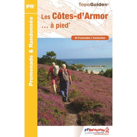 Achat Topo guide randonnées - Les Côtes-d'Armor... à pied® - FFRP D022