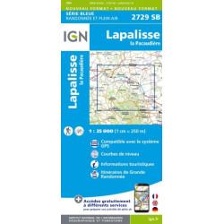 Lapalisse, La Pacaudière - IGN 2729 SB