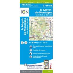 Le Mayet de Montagne - IGN 2730 SB