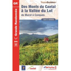 Des Monts du Cantal à la vallée du Lot - FFRP