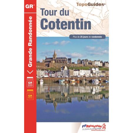 Achat Topo guide randonnées - Tour du Cotentin - FFRP 200