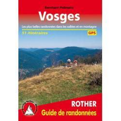 Achat Topo guide randonnées - Vosges - Rother
