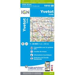 Yvetot, Pavilly - IGN 1910 SB
