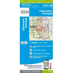 Clermont-Ferrand - IGN 2531 SB