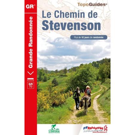 Achat Topo - Le Chemin de Stevenson - Parc des Cévennes - FFRP 700