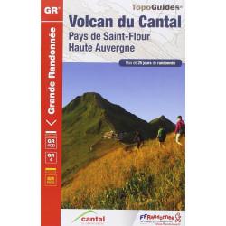 Volcan du Cantal : Pays de Saint-Flour - FFRP 400