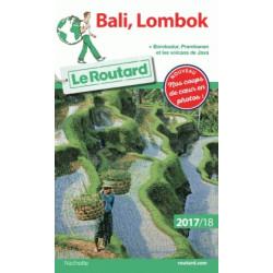 Routard Bali, Lombock 2017
