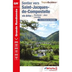 Achat Topo vers St-Jacques-de-Compostelle  Toulouse - Jaca - FFRP 6534