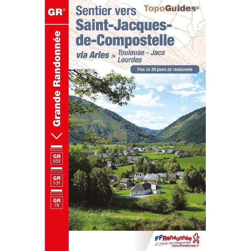 Sentier vers Saint-Jacques-de-Compostelle via Arles - FFRP 6534
