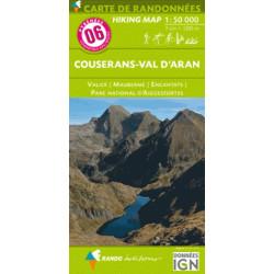 Achat Carte randonnées Couserans, Val d'Aran- Randoéditions N°6