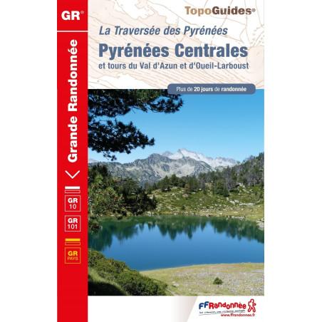 Achat Topo guide randonnées - Pyrénées Centrales - GR10 - FFRP 1091