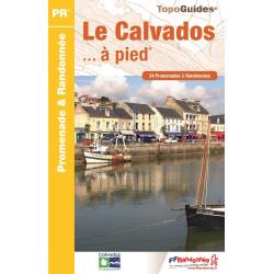 Achat Topo guide randonnées - Le Calvados... à pied®  - FFRP D014