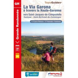 La Via Garona à travers la Haute-Garonne vers Saint-Jacques-de-Compostelle - FFRP