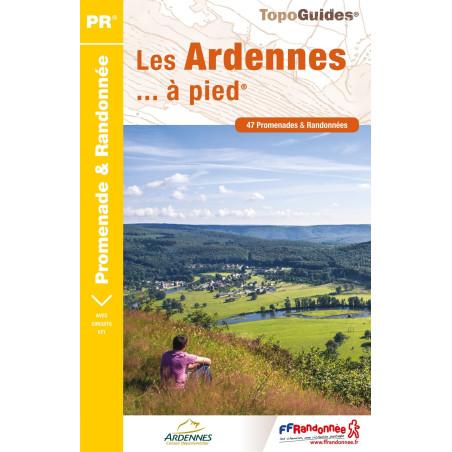 Achat Topo guide randonnées - Les Ardennes... à pied®  - FFRP D008