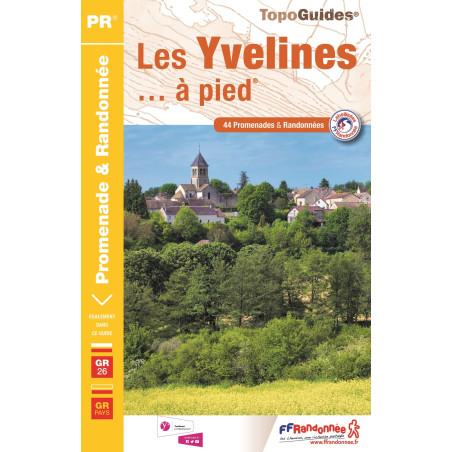 Achat Topo guide randonnées - Les Yvelines... à pied®  - FFRP D078