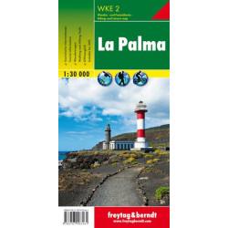 Achat Carte randonnées La Palma - Freytag 2