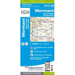 Mormant,Rozay en Brie - IGN - 2515 SB