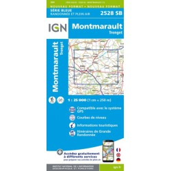 Montmarault, Tronget - IGN - 2528 SB