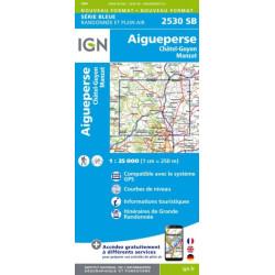Aigueperse,Châtel-Guyon - IGN-2530 SB