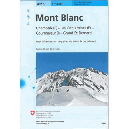 achat carte ski Mont-Blanc, Chamonix, Courmayeur, OFTS 492S