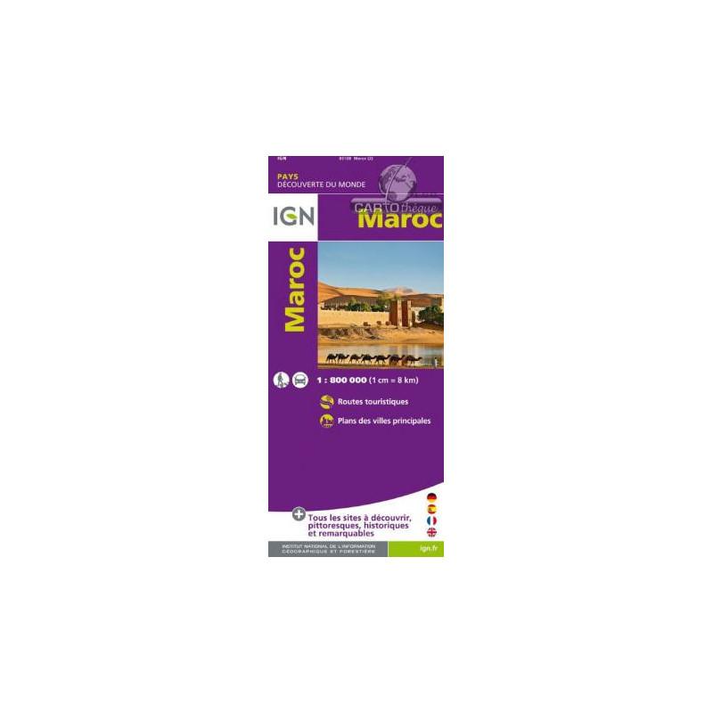 Maroc - Michelin 742