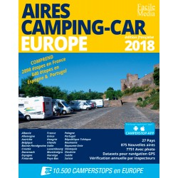 AIRES CAMPING-CAR EUROPE 2018
