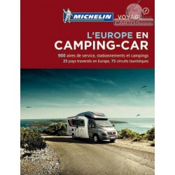 Achat Escapades en camping-car en Europe - Michelin 2018