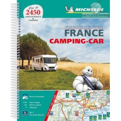 Achat Escapades en camping-car France - Michelin 2018