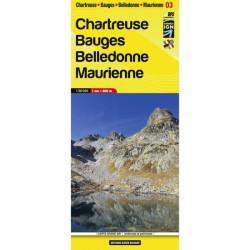 Achat  carte de randonnées Mercantour Alpi Maritime - Didier Richard