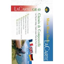 Saint-Jacques-de-Compostelle : GR 65 La Carte - Via Podiensis - Voie du Puy / Miam Miam Dodo - Randonner vers Compostelle