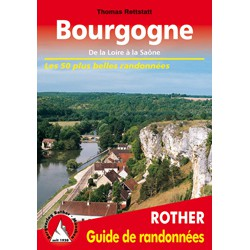 Achat Topo guide randonnées - Bourgogne - Rother