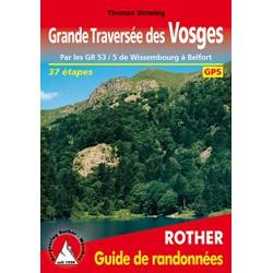Achat Topo guide randonnées - Grande Traversée des Vosges - Rotherr