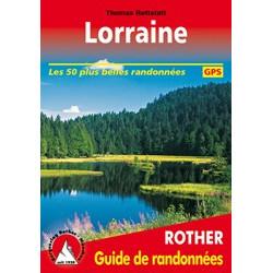 Achat Topo guide randonnées - Lorraine Les 53 plus belles randonnées - Rother
