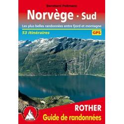 Achat Topo guide randonnées - Norvège Sud Les plus belles randonnées entre fjord et montagne 53 itinéraires - Rother